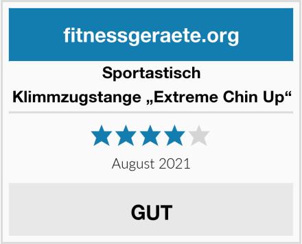 """Sportastisch Klimmzugstange """"Extreme Chin Up"""" Test"""