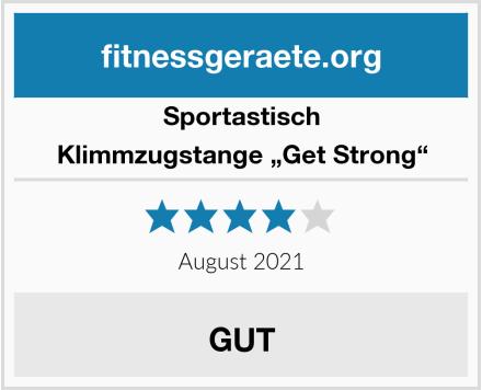"""Sportastisch Klimmzugstange """"Get Strong"""" Test"""
