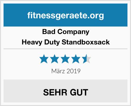 Bad Company Heavy Duty Standboxsack Test