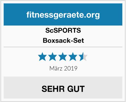 ScSPORTS Boxsack-Set Test