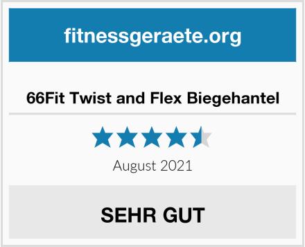 66Fit Twist and Flex Biegehantel Test