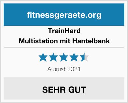Trainhard Multistation mit Hantelbank Test