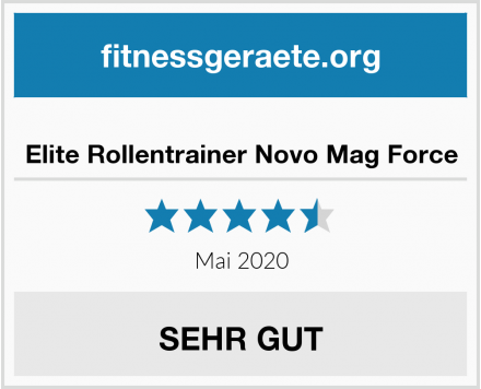 Elite Rollentrainer Novo Mag Force Test
