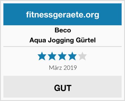Beco Aqua Jogging Gürtel Test