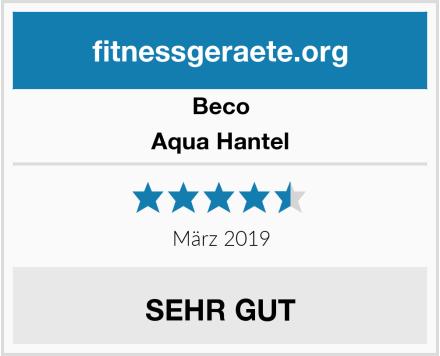 Beco Aqua Hantel Test