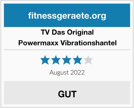 TV Das Original Powermaxx Vibrationshantel Test