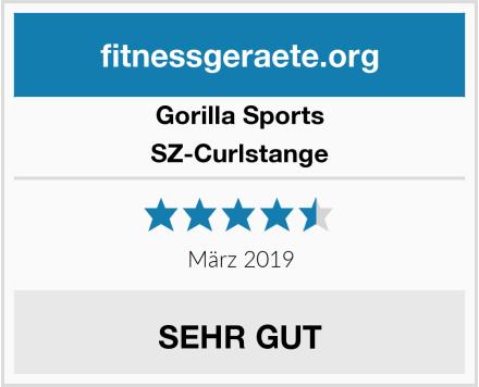 Gorilla Sports SZ-Curlstange Test