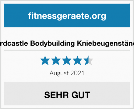 No Name Hardcastle Bodybuilding Kniebeugenständer Test