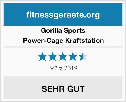 Gorilla Sports Power-Cage Kraftstation Test