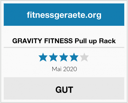 GRAVITY FITNESS Pull up Rack Test