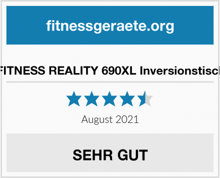 No Name FITNESS REALITY 690XL Inversionstisch Test