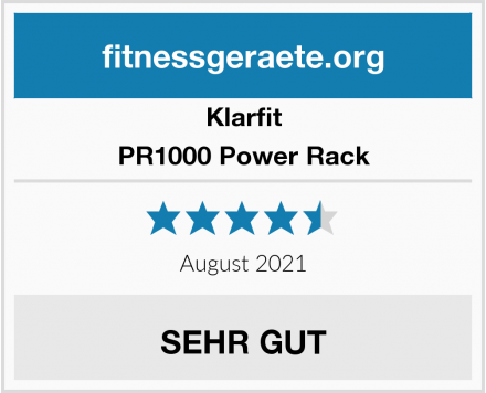Klarfit PR1000 Power Rack Test