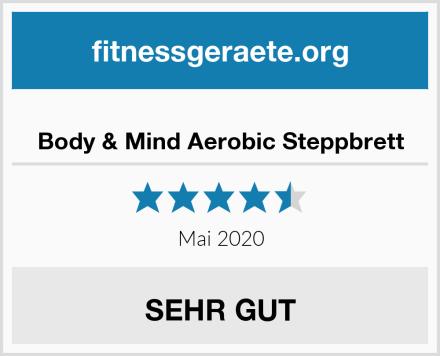 Body & Mind Aerobic Steppbrett Test