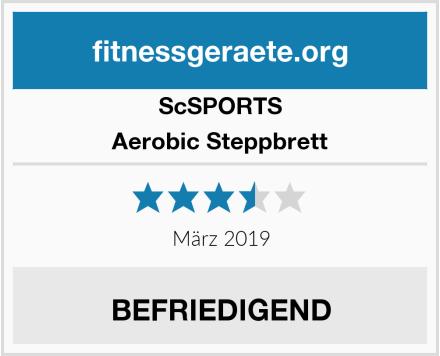 ScSPORTS Aerobic Steppbrett Test