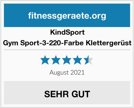 KindSport Gym Sport-3-220-Farbe Klettergerüst Test