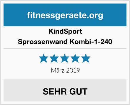 KindSport Sprossenwand Kombi-1-240 Test