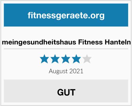 No Name meingesundheitshaus Fitness Hanteln Test