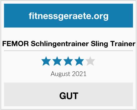 No Name FEMOR Schlingentrainer Sling Trainer Test