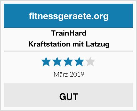 Trainhard Kraftstation mit Latzug Test