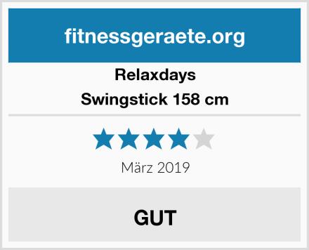 Relaxdays Swingstick 158 cm Test