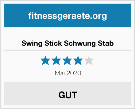 No Name Swing Stick Schwung Stab Test