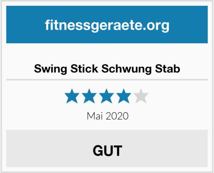 Swing Stick Schwung Stab Test