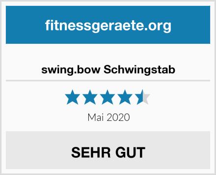 swing.bow Schwingstab Test