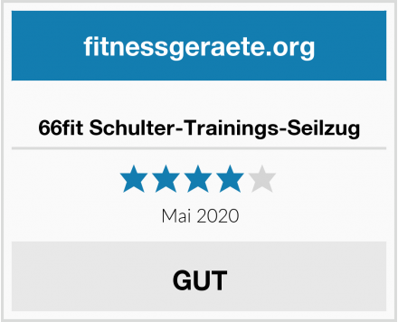No Name 66fit Schulter-Trainings-Seilzug Test