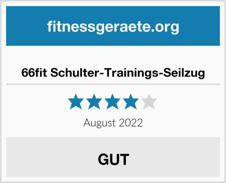 66fit Schulter-Trainings-Seilzug Test