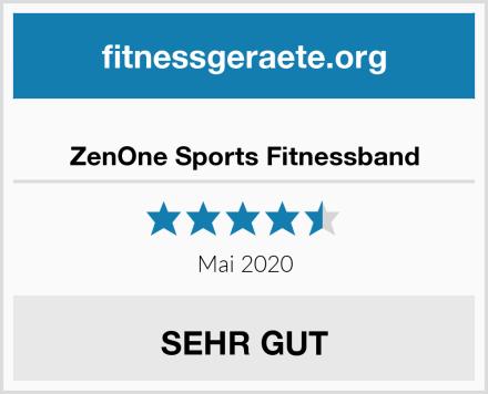 ZenOne Sports Fitnessband Test