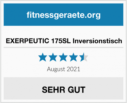 EXERPEUTIC 175SL Inversionstisch Test
