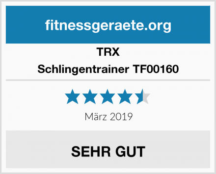 TRX Schlingentrainer TF00160 Test