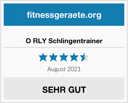 O RLY Schlingentrainer Test