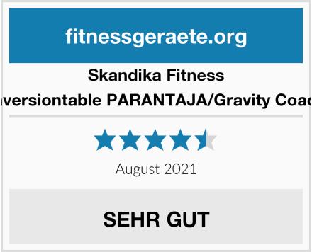 Skandika Fitness Inversiontable PARANTAJA/Gravity Coach Test