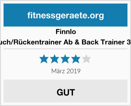 Finnlo Bauch/Rückentrainer Ab & Back Trainer 3869 Test