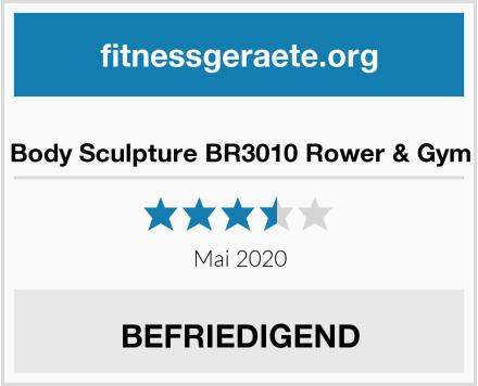 Body Sculpture BR3010 Rower & Gym Test
