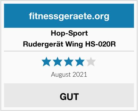 Hop-Sport Rudergerät Wing HS-020R Test