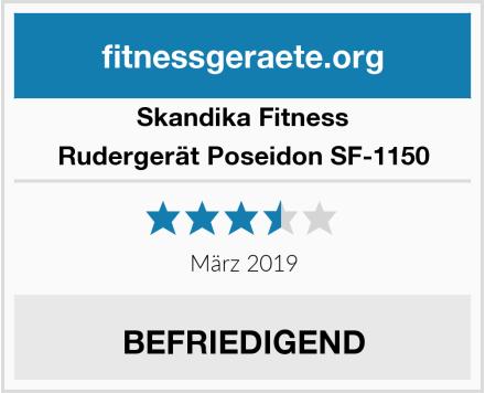 Skandika Fitness Rudergerät Poseidon SF-1150 Test