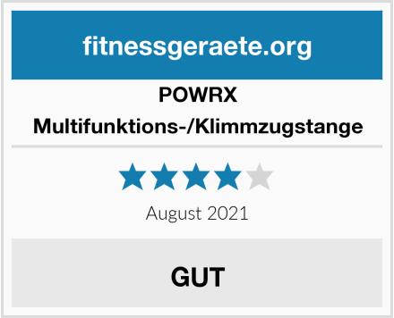 POWRX Multifunktions-/Klimmzugstange Test