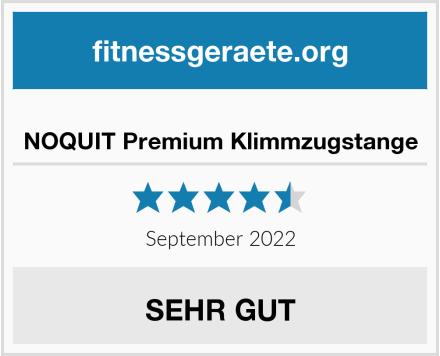 No Name NOQUIT Premium Klimmzugstange Test