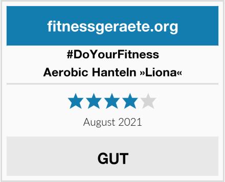 #DoYourFitness Aerobic Hanteln »Liona« Test