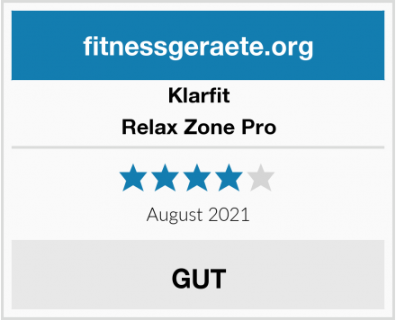 Klarfit Relax Zone Pro Test