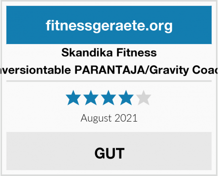 Skandika Fitness Inversiontable PARANTAJA/Gravity Coach Test