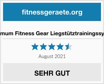 Maximum Fitness Gear Liegstütztrainingssystem Test