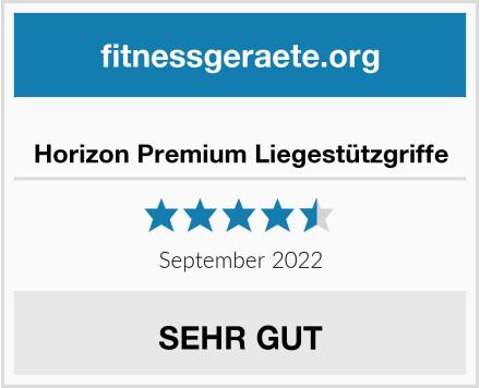 Horizon Premium Liegestützgriffe Test