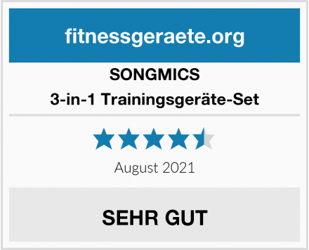 SONGMICS 3-in-1 Trainingsgeräte-Set Test