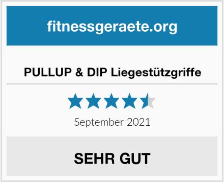 No Name PULLUP & DIP Liegestützgriffe Test