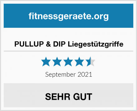 PULLUP & DIP Liegestützgriffe Test