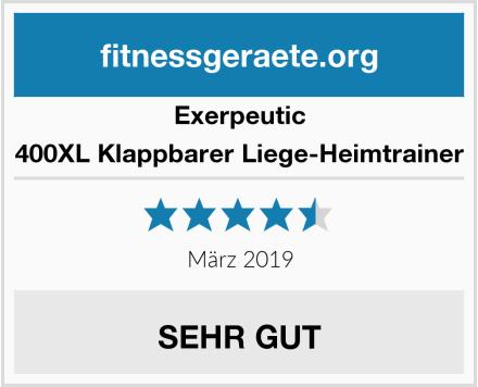 Exerpeutic 400XL Klappbarer Liege-Heimtrainer Test