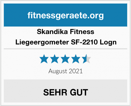 Skandika Fitness Liegeergometer SF-2210 Logn Test